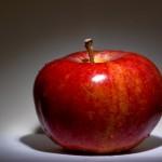 一個のリンゴ